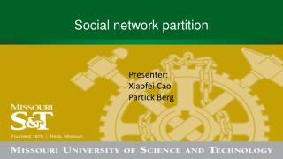 Social network partition