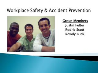 Workplace Safety & Accident Prevention