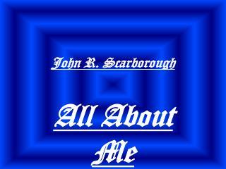 John R. Scarborough