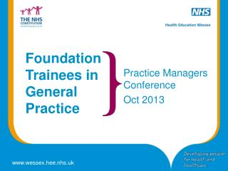 Foundation Trainees in General Practice