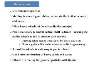 Muller mixers