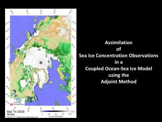 Ocean-Sea ice state estimation using adjoint method