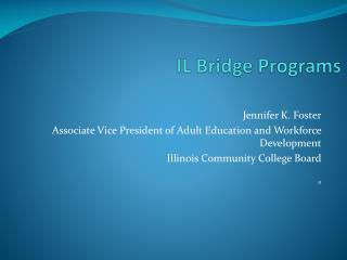 IL Bridge Programs