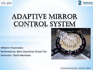 Adaptive  Mirror Control  System