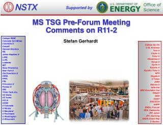 MS TSG Pre-Forum Meeting Comments on R11-2