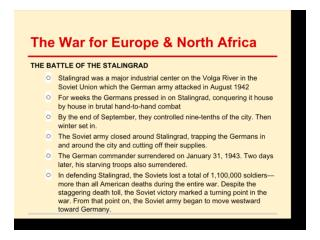 Liberation of Europe and War in the Pacific