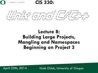 Hank Childs, University of Oregon