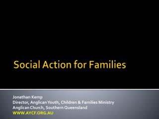 Social Action for Families