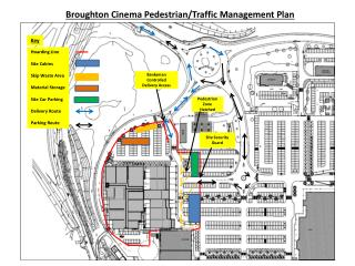 Broughton Cinema Pedestrian/Traffic Management Plan