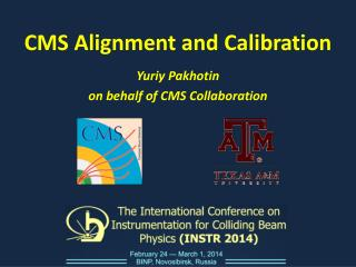 CMS Alignment and  Calibration