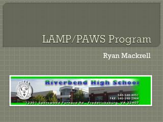 LAMP/PAWS Program