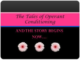 The Tales of Operant Conditioning
