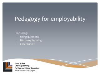 Pedagogy for employability