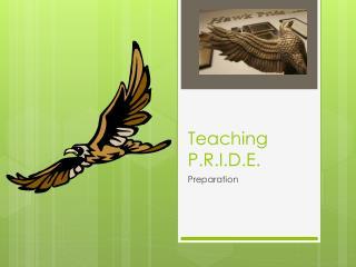 Teaching  P.R.I.D.E .