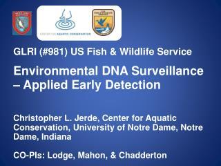 GLRI (#981) US Fish & Wildlife Service