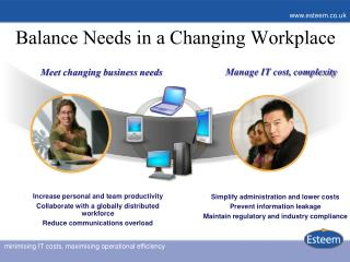 Balance Needs in a Changing Workplace