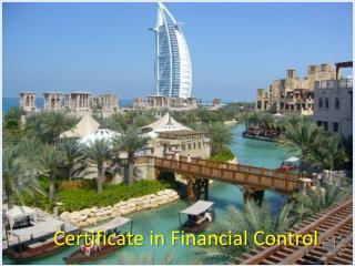 Certificate in Financial Control