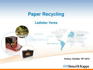 Paper Recycling Ladislav Veres