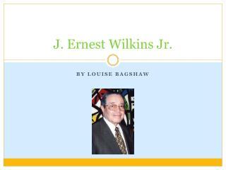 J. Ernest Wilkins Jr.
