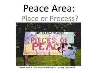 Peace Area: