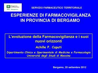 Bergamo, 20 settembre 2012