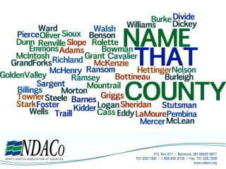 Name the County that was named after a famous frontier hunter, trapper and guide.