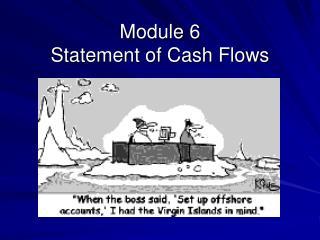 Module 6 Statement of Cash Flows