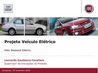 Projeto Ve�culo El�trico