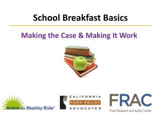 School Breakfast Basics