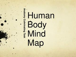 Human  Body  Mind  Map
