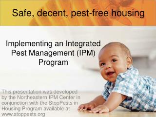 Implementing an Integrated Pest Management (IPM) Program