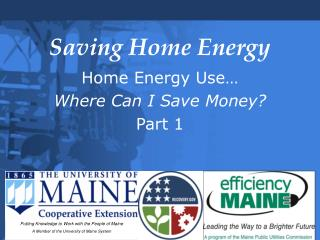 Saving Home Energy