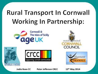 Rural Transport In Cornwall Working In Partnership: