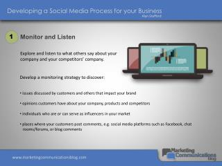 Developing a Social Media Process for your Business