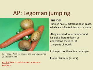 AP:  Legoman jumping