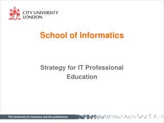 School of Informatics