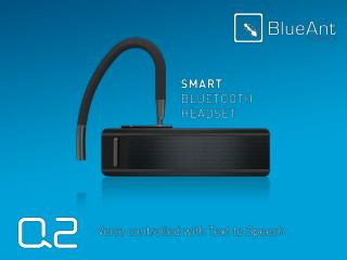 Plug in some headphones to hear the difference between  the BlueAnt Q2 and a leading competitor