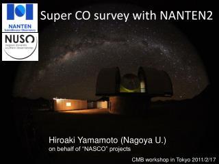 Super CO survey with NANTEN2
