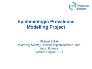 Epidemiologic Prevalence Modelling Project
