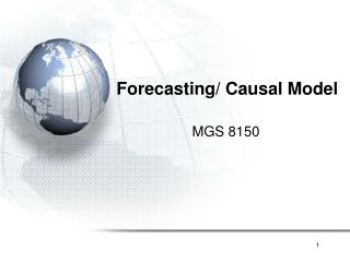 Forecasting/ Causal Model