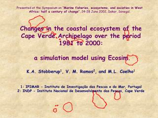 Part 1: Ecosystem characteristics and time series data for Ecopath models