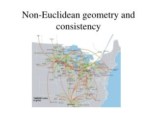 Non-Euclidean geometry and consistency