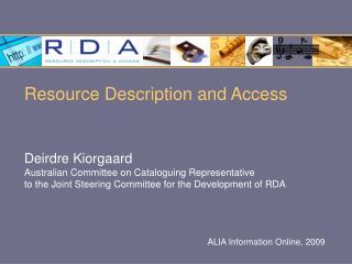 ALIA Information Online, 2009