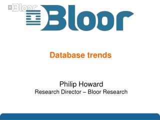 Database trends