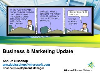 Agenda Business & Marketing Update