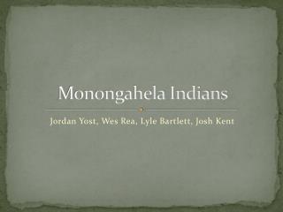 Monongahela Indians