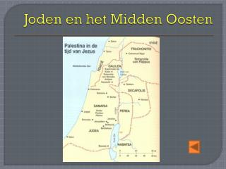 Joden en het Midden Oosten
