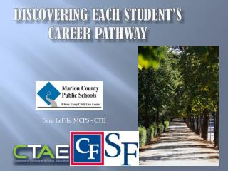 Discovering each student's CAREER pathway