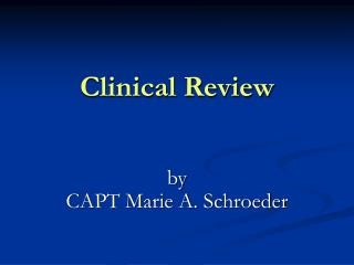 Clinical Review
