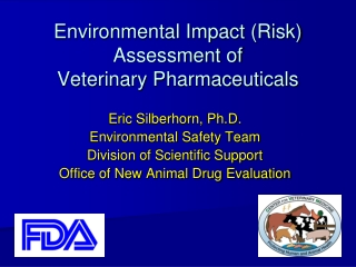 Environmental Exposure Assessment Environmental Fate Processes and Exposure Modelling